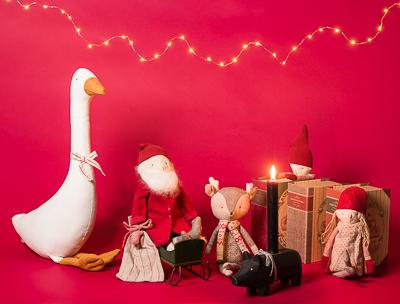 Maileg Weihnachten - Santa Wichtel Gänse und schlafende Mäuse - zum sammeln und schenken