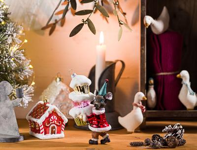 Weihnachten Weihnachtsdekoration - Greengate und Maileg Baumschmuck Dekoration aus Metall von IB Laursen - Geschenke Geschenkideen online